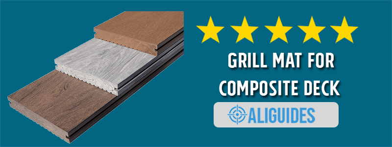 Grill Mat for Composite Deck