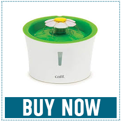 Catit Flower Fountain Water Fountain with Triple-Action Filter