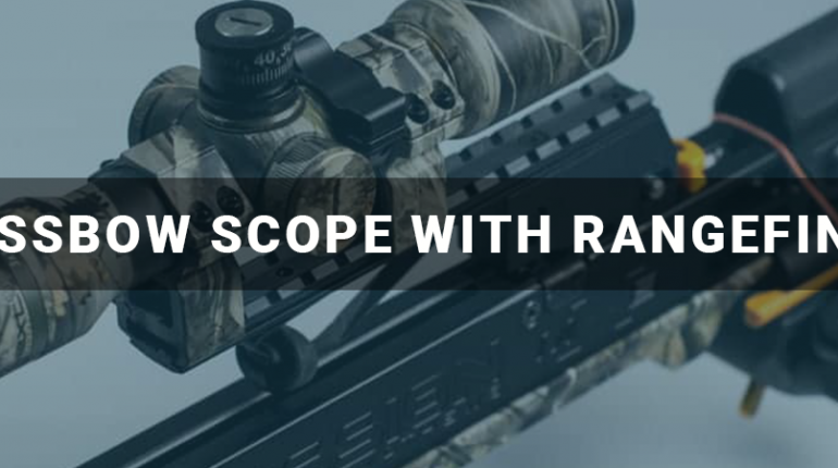 Crossbow Scope With Rangefinder