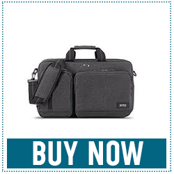 Solo Duane Briefcase/Backpack: