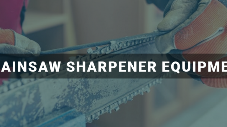 Professional Chainsaw Sharpener Equipment