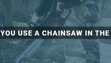 Can You Use a Chainsaw in the Rain