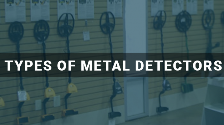 Types Of Metal Detectors